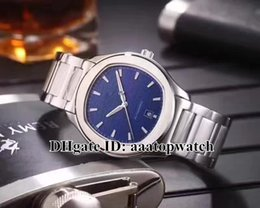 Wholesale 316l S Steel - New Style Luxury brand watch POLO S G0A41002 42mm blue Dial Automatic Mechanical Mens Watches 316L SS strap high quality Gents sport watches