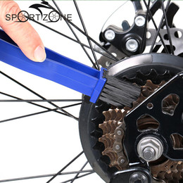 Wholesale Cleaning Motorcycle - Bicycle Motorcycle Chain Cleaner Bike Cycling Gear Grunge Clean Brushes Crankset Cleaner Scrubber Tools Bike Accessories +B