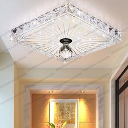 Wholesale Vintage Crystal Ceiling - LED Crystal Ceiling Light Lamp Lighting Fixture Vintage Glass Pendant NEW Modern MYY