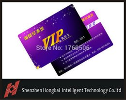 Wholesale Rfid Printed Cards - Wholesale- 500pcs  125Khz RFID Proximity ID Card printing. VIP card pirnting, access cards printing