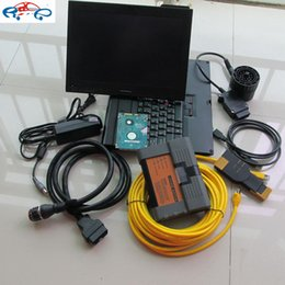 Wholesale Bmw Isis A2 Icom - For Bmw Icom A2 Professinal diagnostic tools with X200T Laptop Installed 2017.07V in 500GB HDD Expert Mode for Bmw Isis Isid A2+B+C