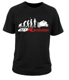 Wholesale Honda Cbr F - T Shirt T-shirt Honda CBR 600 F 1000 Rr Cool Casual Sleeves Cotton T-Shirt Fashion 3D T Shirt Men Plus Size Cotton Tops Tee