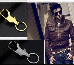 Wholesale Motorcycles Bottle Openers - 2017 Men Metal Car Motorcycle Keychain bottle opener Key Chain Key Holder for Toyota Fashion Business affairs