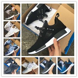 Wholesale Camping Shoes For Men - (With Box) NMD XR1 x Mastermind Japan Skull Men's Casual Running Shoes for Original quality Black Red White Boost Fashion Sneakers EUR 36-45