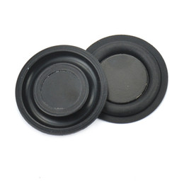Wholesale Vibrate Speaker - Wholesale- 2Pcs 35mm Loudspeaker Bass Vibrating Diaphragm Passive Plate SoundBox Radiator Speakers