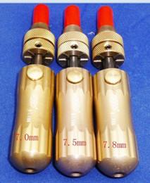 Wholesale Tubular Adjustable - GOSO Tubular Adjustable Manipulation Lock Pick7.0 mm, 7.5mm ,7.8mm 3pcs lot lock Pick Set Locksmith Tools