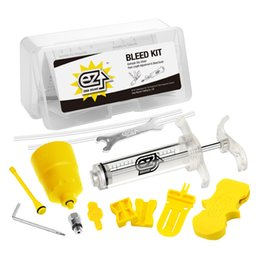 Wholesale Minerals Kit - Bicycle Hydraulic Brake Bleed Tool Kit for Shimano, Tektro, Margura MT and Seires Brake System Use Mineral Oil Brake R0019