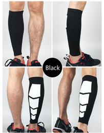 Wholesale Basketball Protective Pads - 1PCS Running Basketball Football Leg Shin Guards - Soccer Protective Calf Sleeves Cycling Fitness Calcetines Compresion Running Socks