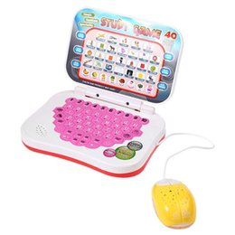 Wholesale kids tablet computers - Kids Mini PC Learning Machine Educational Toy with Mouse Early Tablet Computer Toy Kid Educational Toys for children learning Reading