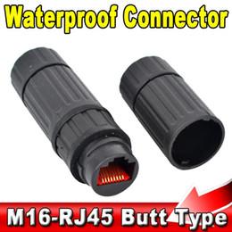 Wholesale Socket Lan - Durable Ethernet Network LAN Cable RJ45 Waterproof Connector Adapter Plug Socket Female to Female , IP68 , Butt Type