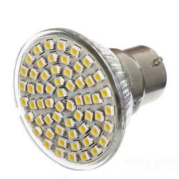 4W 60pcs 2835SMD E14 E27 MR16 B22 GU10 LED Spotlight 110V 220V Ampoule Spot LED Lumière ? partir de fabricateur