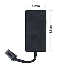 Wholesale Camera Hide Door - mini gps tracker vehicle alarm hidden with app anti-lost anti theft geo fence sos one button call sim card GSM GPRS tracking door open alarm