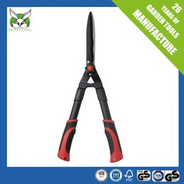 Wholesale Metal Bushes - Hedge Shears Carbon Steel Blade With Ilaflon Coating Gardening Secateurs Lawn Hedge Bushes Trimming Pruning Shears Garden Tool Trimmer