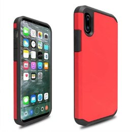 Wholesale ultimate iphone case - Armor Hybrid Carbon Fiber Shockproof The Ultimate Anti Shock Hard Cover Case For iPhone 8 7 Plus 6 6S Samsung S8 Note 8