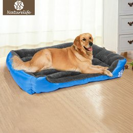 Wholesale Houses For Cats - Pet Dog Bed Warming Dog House Soft Material Pet Nest Dog Fall and Winter Warm Nest Kennel For Cat Puppy Plus size Drop shipping