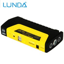 Wholesale Power Supply Emergency - LUNDA Car Jump Portable Car JumpStarter 12V Car Engine Emergency Battery Power Bank Fast Charge,High power mobile power supply
