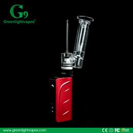 Wholesale China Wholesale Vaporizer - China Shenzhen innovative portable enail item Best quality 510 new ceramic vaporizer G9 510nail wholesale with Glass water Pipe wax tank.