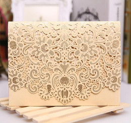Wholesale Wedding Personalized Thank Card - 2017 Hot selling Wholesale Personalized Wedding Invitation Cards, thank you cards white red color invitation wed cards with modern designs