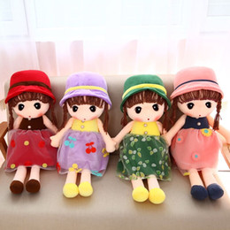 Wholesale Plush Toys Manufacturers - Manufacturers wholesale and cute princess doll plush toys wedding dolls children birthday present for girls