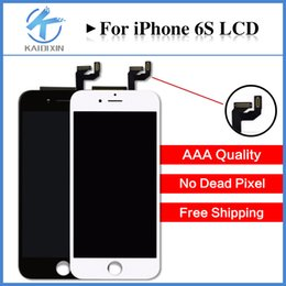 Wholesale Iphone Wholesale Replacements - Perfect 3D Touch For iPhone 6S LCD Quality AAA Display Touch Screen Digitizer Replacement Assembly Free shipping DHL