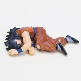 Wholesale Dead Dolls - 10cm Japan anime Dragon Ball figure YAMCHA Dead Ver. PVC Figure Collectible Model Toy Doll