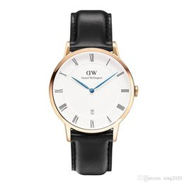Wholesale Watch Couple Rose Gold - 2017D watch rose gold and silver dial Europe and the United States popular wind couple watches, men and women watches