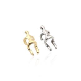 Wholesale Earing Cuffs - Simple Ear Climber Earrings Climbing Villainous Ear Vintage Earing For Women Men Bone Folder No Pierced Ear Clip