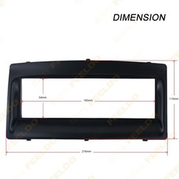 Wholesale Byd F3 Dvd - Car DVD Radio Stereo Trim Panel Fascia Frame Kit For BYD F3(2005~2008) 1DIN Stereo