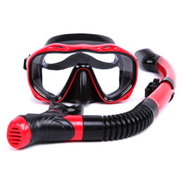 Wholesale Performance Tube - Wholesale- 2016 Hot Selling Waterproof High Quality High Performance Professional Diving Mask Diving Tube Plus Material Safety Underwater