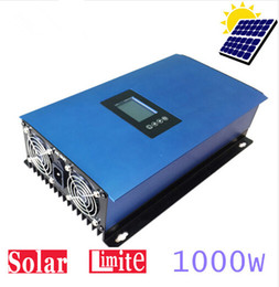 Wholesale Solar Grid Tied Inverter - 1000W MPPT Solar Power Grid Tie Inverter with Limiter AC 110V 120V 220V 230V 240V PV panels system connected