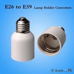Wholesale E39 Socket - Top Quality E26 to E39 lamp holder adapter E26-E39 Converter LED Bulb Base Light Socket Converters CE ROHS