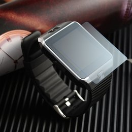 Wholesale Piece Watches - 3 Pieces NEW 3H Soft Tempered Screen Protector Film for DZ09 Smart Watch Phone