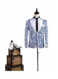 Wholesale Wedding Dress For Man Slim - Blazer men formal dress pattern royal blue mens suit costume homme terno slim masculino marriage wedding suits for men's 2017