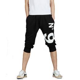 Wholesale Crop Pants For Men - Wholesale- Hot Men'S Boy'S Sportwear Harlan Cropped Trousers New Men Pants Casual Trousers Men'S Sportwear Leisure Jogger Loose For Boy Z10