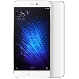 Wholesale Cdma Card Phone - Original Xiaomi Mi5 M5 Mi 5 Prime 32GB 64GB ROM 3GB RAM Mobile Phone Snapdragon 820 5.15inch FHD 16MP Fingerprint ID Official Global ROM NFC