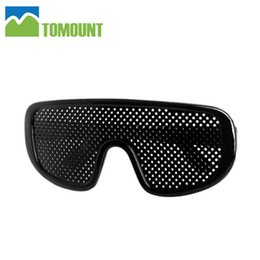Wholesale Improving Eyesight - Wholesale- Pinhole Glasses Sunglasses Vision Eyesight Improve Eyes Exercise A Eyecare Eyewear for hiking Camping