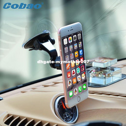 Wholesale Support Voiture - Universal car cell phone holder windshield magnetic mobile holder support telephone voiture for smartphone ipphone gps