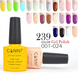 Wholesale Color Nail Lacquer - 34pcs*7.3ml CANNI Wholesale Price Free Shipping CANNI UV Color Gel Lacquer Long Lasting Nail Gel Polish