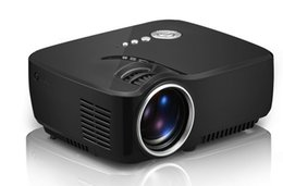 Wholesale Miniature Lcd - New LED HD arrival Mini Portable GP70 Projector Full HD miniature Home Theater LED TV Video Game Beamer 1200 Lumens 1080P LCD Proyectors