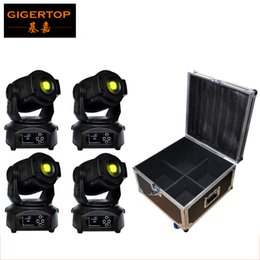 Wholesale Display 14 Led - Freeshipping 4IN1 Flightcase Pack 90W Led Moving Head Light Huiliang Power 14 Channels LCD Display Switch off Automatically