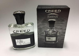 Wholesale good shipping - New Creed aventus perfume for men cologne 120ml with long lasting time good smell good quality high fragrance capactity free shipping