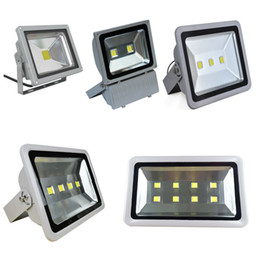 Wholesale Green Squares - Free Shipping Led Floodlights Waterproof 100W 150W 200W 250W 300W 400W Led Outdoor Flood Lights Led Landscape Lamp AC 85-265V free shipping