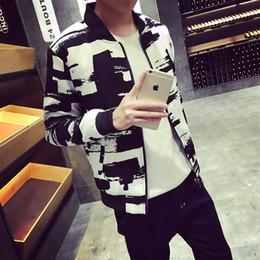 Wholesale Color Block Clothing - Wholesale- New 2016 spring fashion color block baseball uniform slim fit jacket men veste homme men's clothing plus size m-5xl  JK6