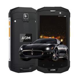 "Wholesale Touch Mobile A8 - AGM A8 IP68 Waterproof Mobile Phone 5.0""HD 3GB RAM 32GB ROM Qualcomm MSM8916 Quad Core 13.0MP 4050mAh NFC OTG"