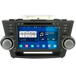 Wholesale Toyota Highlander Gps Dvd Player - Winca S160 Android 4.4 System Car DVD GPS Headunit Sat Nav for Toyota Highlander   Kluger 2008 - 2012 with 3G Host Wifi Radio