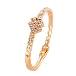Wholesale Festival Designs - Wholesale- New Design Elegant Bracelet With Synthetic Rhinestone Fashionable Jewelry For Festival Female Accessory