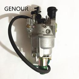 Argentina carburador de alta calidad del generador 188F de RUIXING, carburador auto del silenciador para GX340 GX390 420, 188F 389CC EC6500 Small Eng Suministro
