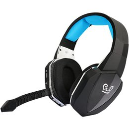 Wholesale Wireless Tv Headphones - 2017New Version Stereo headset 2.4Ghz Optical Wireless Gaming Headset headphone for PS4 3 XBox 360 one PC TV earphones