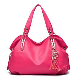 Wholesale Messenger Product - Wholesale- female new fashion High Products Luxury Handbag Tote ladies PU Leather Hobo Shoulder Bag women Messenger Bags 6 colors Z-16