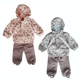 Wholesale Twins Baby Set - Wholesale- toddler baby clothing set, baby girls, baby boys windproof waterproof suit, twins clothing set, size 62 to 80